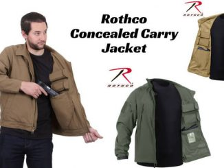 rothco concealed carry jacket review