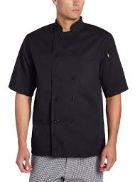 Dickies Men's Donatello Short-Sleeve Classic Chef Coat