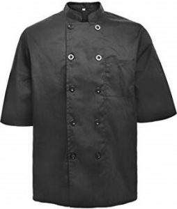 TOPTIE Unisex Chef Coat Jacket
