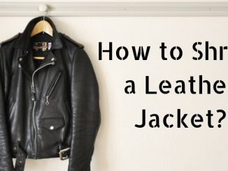 How to Shrink a Leather Jacket_