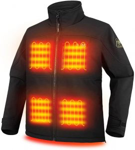 PTAHDUS Men's Heated Jacket