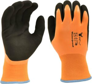 G & F Products 100% Waterproof Winter Gloves